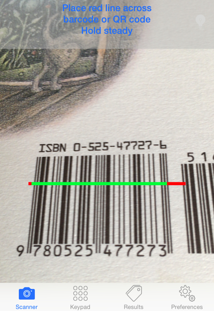 barcode and QR scanner